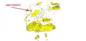 MUFFLER CLAMP BRACKET GSMOON XYKD260-1/260-2