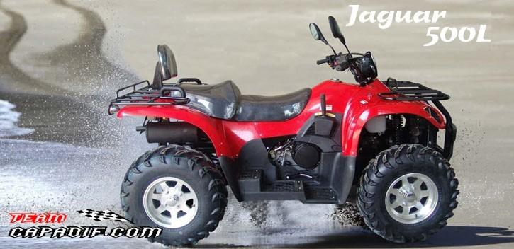 Quad Kazuma Jaguar 4x4 500l