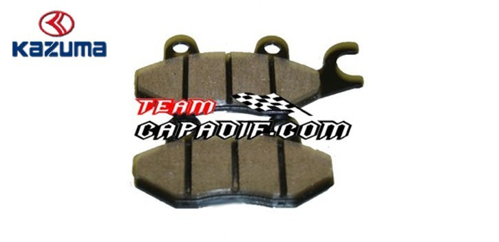 Brake pads front left KAZUMA JAGUAR 500CC