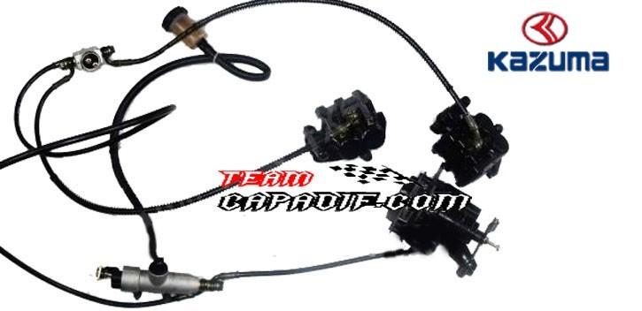 brake system KAZUMA JAGUAR 500CC
