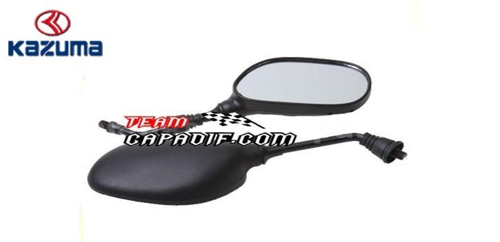 REAR VIEW MIRROR SET JAGUAR 500CC