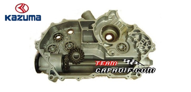 Carter left engine KAZUMA JAGUAR 500CC