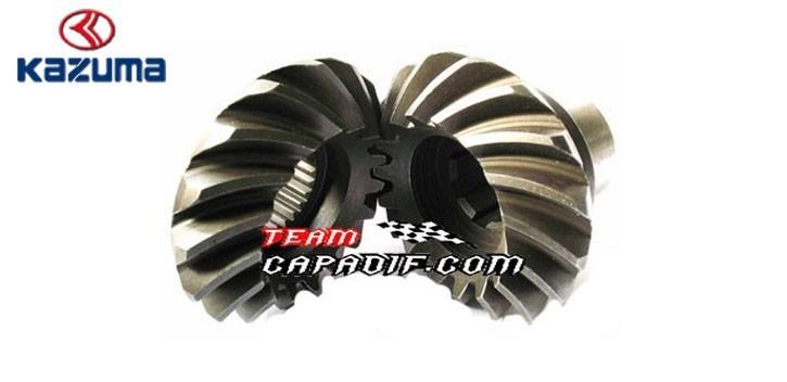 Bevel gears (pair) shaft KAZUMA JAGUAR 500CC