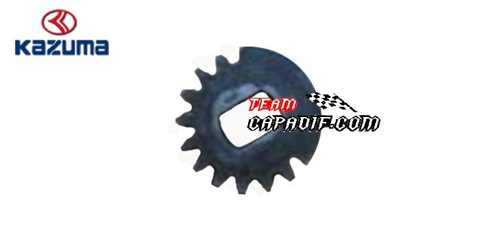 SLAVE DRIVEN GEAR FOR GEAR SHIFT KAZUMA JAGUAR 500CC