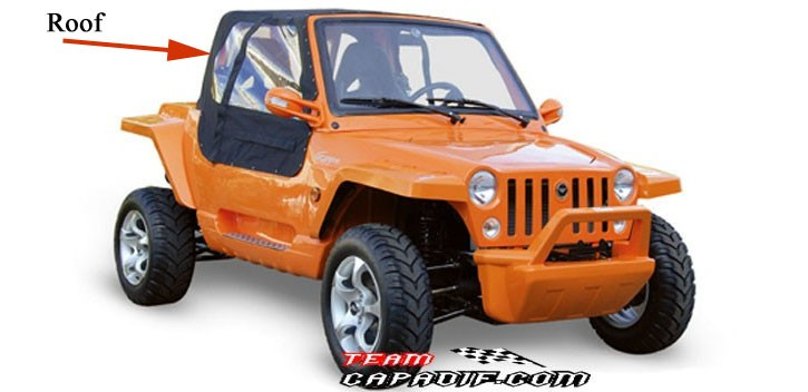 Roof JEEP 800 GSMOON