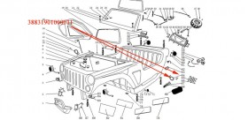 rétroviseur latéral gauche XYJK800