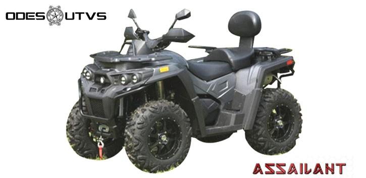ASSAILLANT ODES ATV 800CC 4X4 homologation T3.