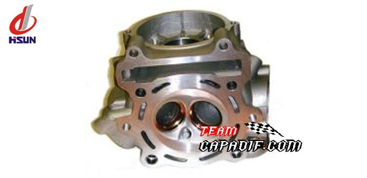ATV 400H, ATV 450 HiSun cylinder head assembly