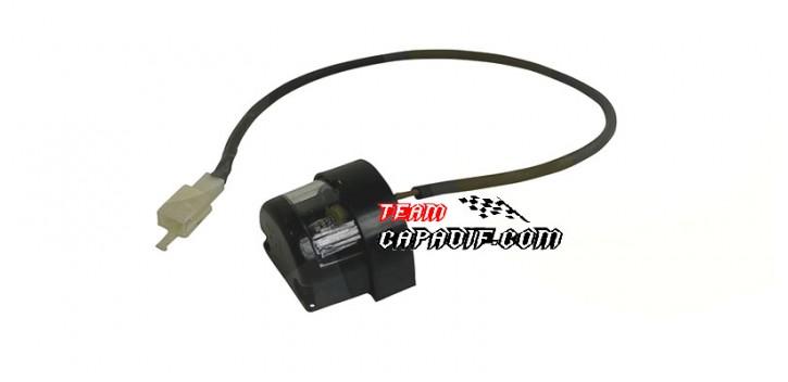 Kinroad 250cc lampe plaque immatriculation arrière