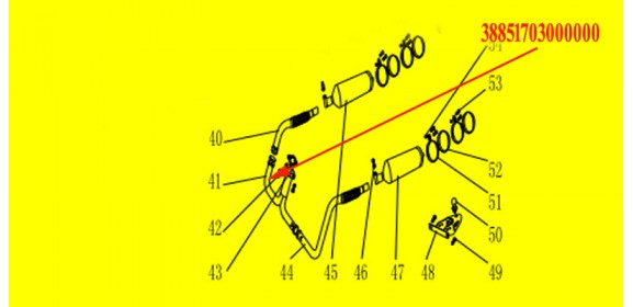 MUFFLER Y-PIPE XYUTV800