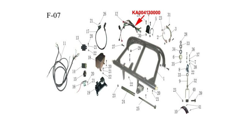 kinroad 150cc sub