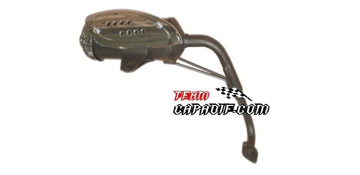 Kinroad 150 cc de escape