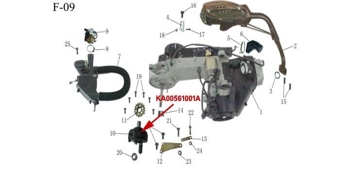 Kinroad 150 CC Buggy Inverter