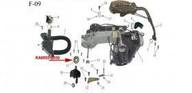 DRIVE SPROCKET kinroad 150 cc