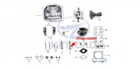admission valve kinroad 150 cc