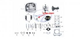 Kinroad spark plug 150 cc