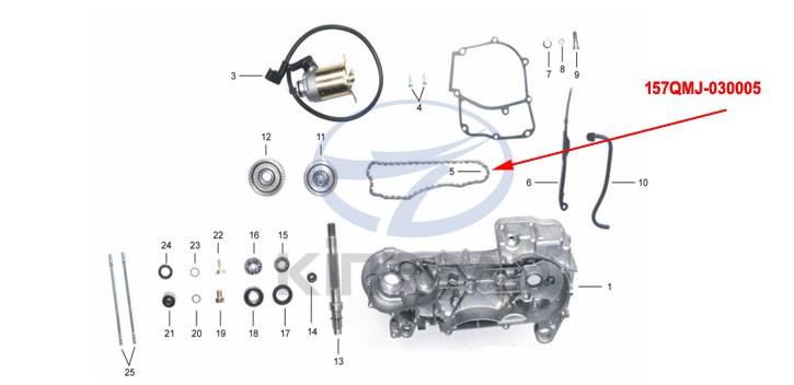Chain Cam KINROAD 150 CC
