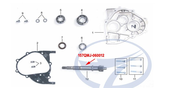 DRIVE SHAFT KINROAD 150 CC