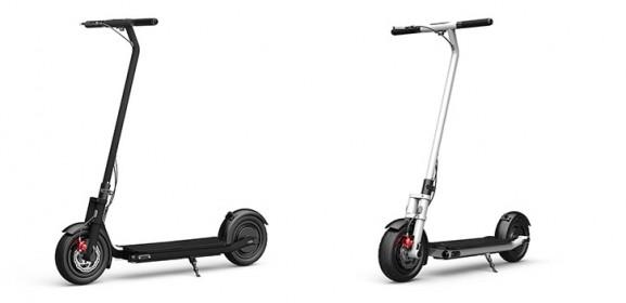 Trottinette électrique roues 10 pouces pliable E-Roller