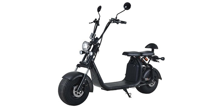 Citycoco matriculable Harley Scooter eléctrico EEC