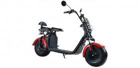Citycoco Harley Scooter elettrico EEC Scelta di 1000 W o 1500 W / 20 Ah