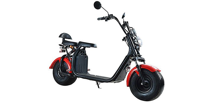 Brexit Citycoco matriculable Harley Scooter eléctrico EEC