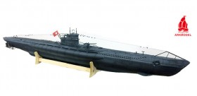 U-Boat German Type VIIC Submarine 1/48 Kit