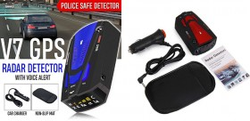 Rilevatore GPS per auto, rilevatore anti-radar a 360 °