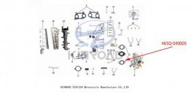 Sello del carburador Kinroad 800 1100