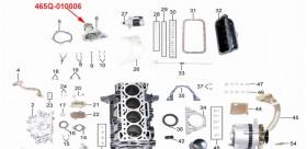 Oil pump Kinroad 800 cc 1100 cc