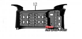 Poggiapiedi destro ODES 800