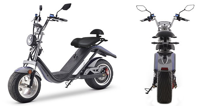 Electric Scooter E-Thor Matriculable 2000W/20AH