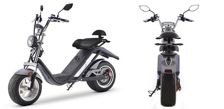 Scooter Eléctrica E-Thor Matriculable 2000W/20AH