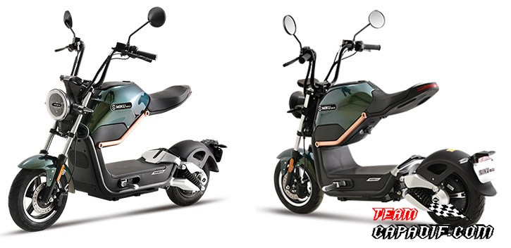 Miku Max electric scooter road approved Motor BOSCH / 20Ah / 20Ah