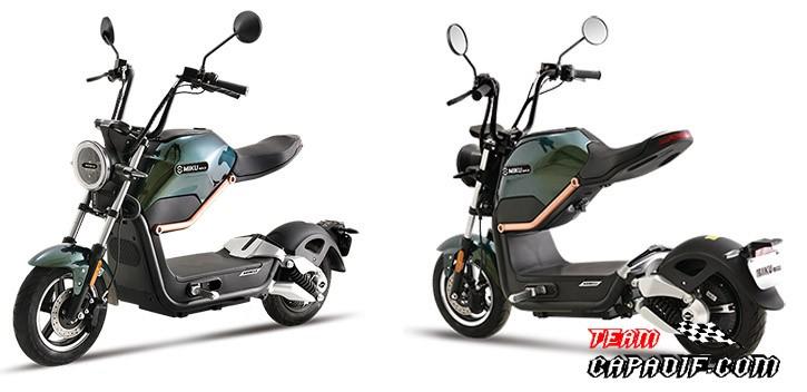 Scooter électrique Miku Max homologué route Motor BOSCH / 20Ah