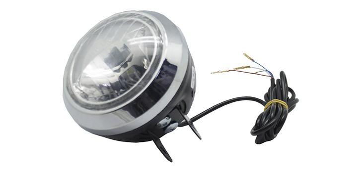 Lampe frontale Led Citycoco + Haut-parleur Bluetooth Version X et XI