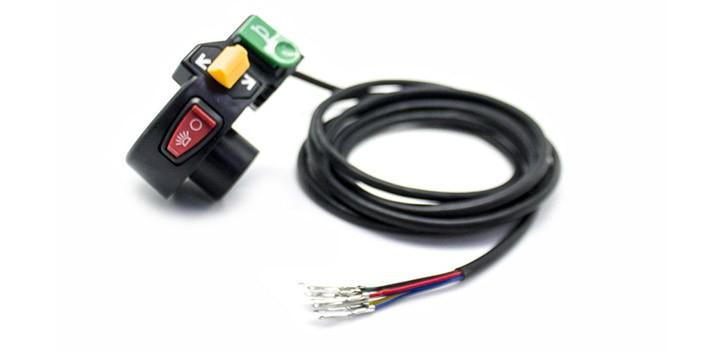 Interrupteurs de klaxon et de lumière Citycoco