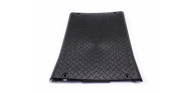 Plastic footrest cover for road-approved Citycoco
