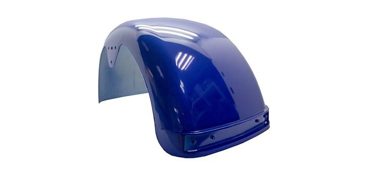 Parafango posteriore Citycoco VII e X (lampeggiatore rosso)