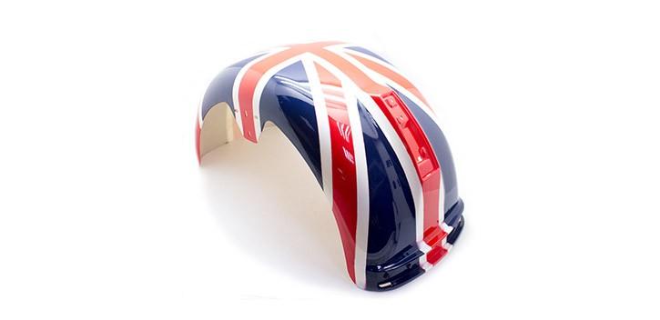 Aile arrière britannique Citycoco Plus