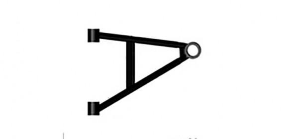 Lower A-arm, RH, FR Odes 800