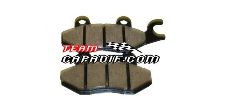 Brake pad,Rear , LH Odes 800