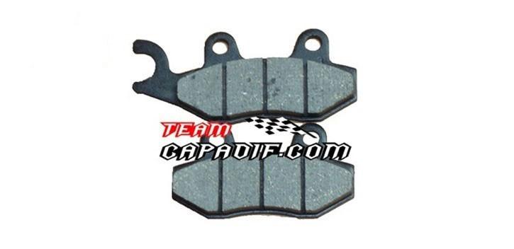 Brake pad,Rear , RH Odes 800