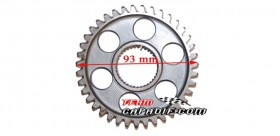 DIFFERENTIAL GEAR TRAIN WHEEL XYKD150-3