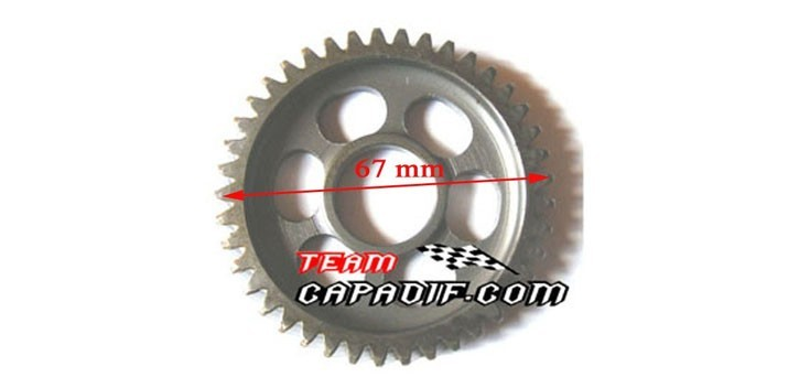 THE MIDDLE AXLE GEAR XYKD150-3