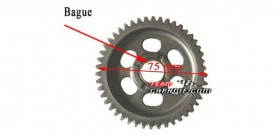 THE MIDDLE AXLE DRAW BACK GEAR XYKD150-3