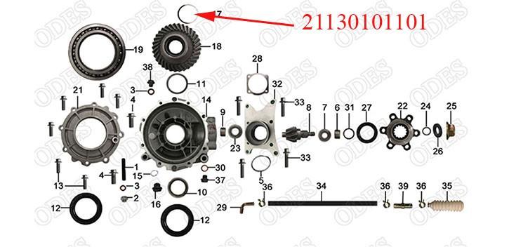 Thrust Washer 99.5_85.5_0.1