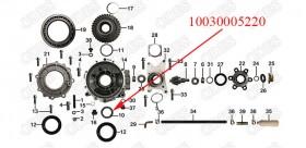 Needle bearing NK556720