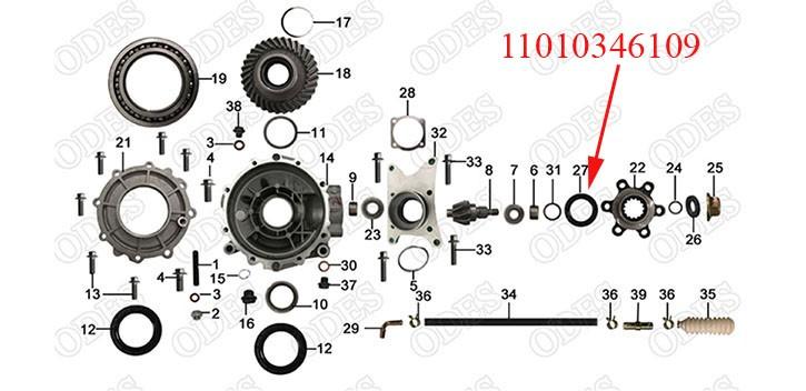 Oil Seal NAK34.5 61 9/13