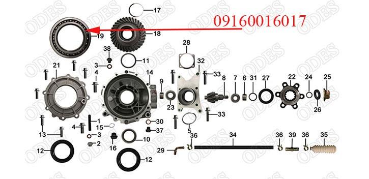 Deep Groove Ball Bearing 16017